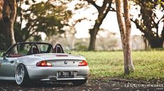 When love cultivates, just do all things || Diwan's BMW Z3 | Lady | On | Wheels - Indonesian Stance & Hellaflush Car Photography