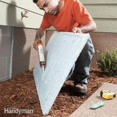 Insulate and dress up bare foundation walls using coated rigid insulation. Use termite resistant insulation for termite infested regions.