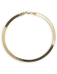Super Flexible Herringbone Chain Bracelet. ** See this great product. (This is an affiliate link) #Bracelets