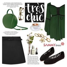 """""""SD"""" by helenevlacho ❤ liked on Polyvore featuring Anja, women's clothing, women, female, woman, misses, juniors and sammydress"""