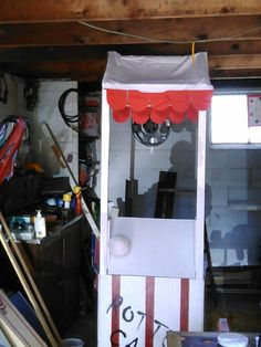 Putting the roof on the rotten candy stand