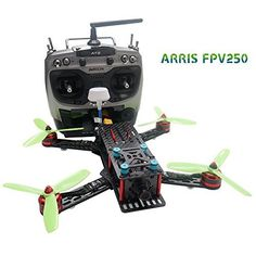 ARRIS FPV250 250mm FPV 250 Quadcopter RC Racing Drone RTF With F3 Flight Controller + HD Camera + FPV TX + Radiolink AT9 Transmitter - http://www.midronepro.com/producto/arris-fpv250-250mm-fpv-250-quadcopter-rc-racing-drone-rtf-with-f3-flight-controller-hd-camera-fpv-tx-radiolink-at9-transmitter/