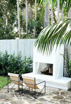 Outdoor Rooms, Outdoor Living, Outdoor Decor, Outdoor Stuff, Outdoor Areas, Outdoor Furniture, Palm Beach Candles, Contemporary Beach House, Outdoor Heaters