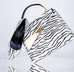 Deu Zebra, via http://www.carolinedemolin.com.br