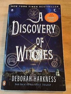 All Souls Trilogy: A Discovery of Witches Bk. 1 by Deborah Harkness (2011,)