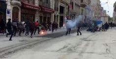 Final Four için İstanbul'a gelen Olympiakos taraftarlarına saldırı