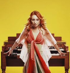 Tori Amos:  I can't properly explain the effect this woman has on me when she touches a piano, but it's pretty freaking awesome.