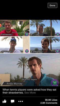 Andy Murray everyone