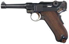 DWM Model 1906 Russian Military Contract Semi-Automatic Luger