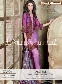 GA winter Digital collection 2014. I love the print and colours in this suit. I have this one as well.