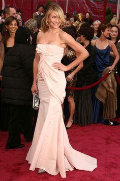 Oscar Awards 2015: Past Red-Carpet Looks That Rachel Zoe Loves | The Zoe Report Cameron Diaz in Dior 2008