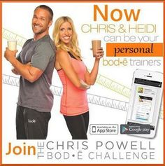 Chris Powell Bode Challenge Winners Announced! Next challenge deadline is August 10th! Only 14 weeks away! Are you ready to take on your life and create your healthy body?