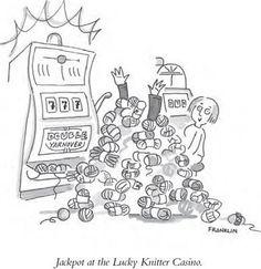 Premio en el Casino 'El tejedor afortunado'.    De Franklin Habit/ http://www.interweavestore.com/Knitting/Books/It-Itches-Paperback.html?SessionThemeID=15=HBSFB12