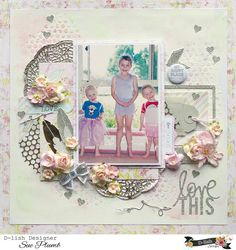 Look into my life: D-lish Scraps November Projects