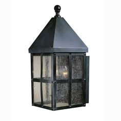 This bronze lantern is very popular on Pinterest. Practical-minded Santas take heed.
