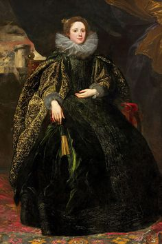 Marchesa Balbi - Sir Anthony Van Dyck.