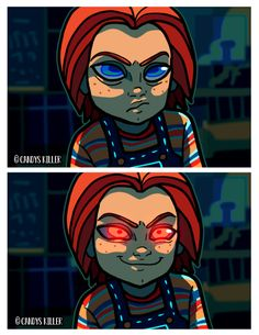 """yesiscandyskiller: """"FAVE SCENE REDRAW FROM CHILD'S PLAY… • Commissions open!. """""""
