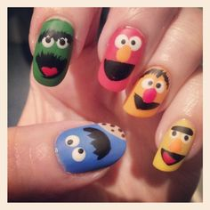 May have to do these muppets when Sonia Manzano (Maria) comes to keynote at our annual Children's Champion Luncheon!