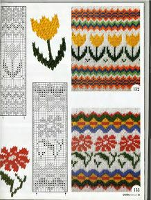 Burda S401 Vzory - Isabela - Knitting 2 - Álbumes web de Picasa