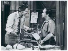 Barney explaining things to Levitt. Barney Miller, Ol, June