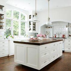 Fresh, White Kitchens26