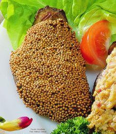 Mustármagos sertésmáj – Receptletöltés Avocado Toast, Pork, Cooking Recipes, Foods, Drinks, Breakfast, Ethnic Recipes, Pork Roulade, Food Food