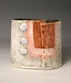 Ceramics by Craig Underhill at Studiopottery.co.uk - Produced in 2007. Red door H16cm.
