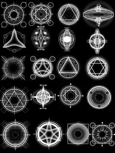 Alchemy Magic Circles High Res by ~Psycho--Princess on deviantART