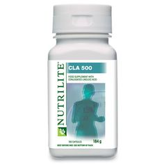 NUTRILITE CLA 500     It is a food supplement with conjugated Linoleic acid derived from 100% safflower oil. Linoleic acid contributes to the maintenance of normal blood cholesterol levels.