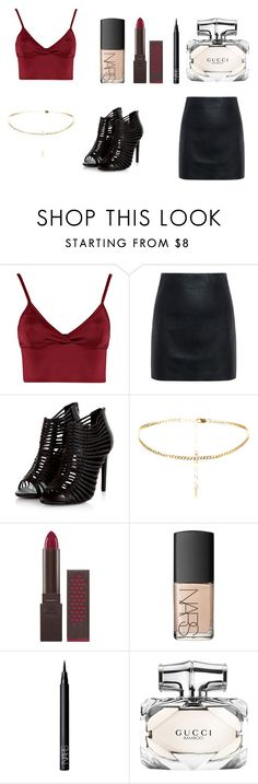 """""""business women"""" by akidesekerii on Polyvore featuring moda, Lipsy, McQ by Alexander McQueen, Burt's Bees, NARS Cosmetics ve Gucci"""