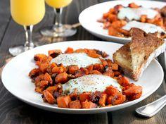 Sweet Potato and Eggs Breakfast Hash   Easter Brunch