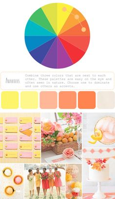 How to Create Color Palettes / analogous colors