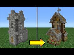 Minecraft Tutorial: How to Transform a Villager Church YouTube Minecraft fountain Minecraft crafts Minecraft