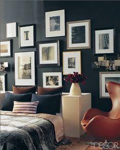 Inspirações de ambientes com paredes pretas lá no Blog Midá.