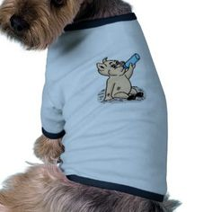 Baby Pig Cartoon Dog Clothes