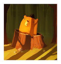 DUFFBOT: Morning Bear