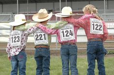 rodeos...Yep pretty sure THIS is what our babies will do:o)