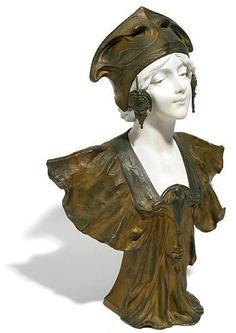 Art Nouveau bust ca.1900