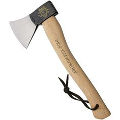 Camping Axe Lumberjack Winter Tools Crafts Ax Wood Iron On Patch