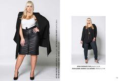 www.harlowstore.com Fall Winter, Autumn, Plus Size Girls, Australian Fashion, Fashion Lookbook, Plus Size Outfits, Plus Size Fashion, Leather Skirt, Shopping