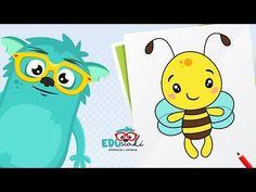 Jak narysować Pszczółkę   Nauka Rysowania Krok po Kroku   Rysowanie Dla Dzieci   #edusiaki - YouTube Pikachu, Youtube, Fictional Characters, Art, Art Background, Kunst, Performing Arts, Fantasy Characters, Youtubers