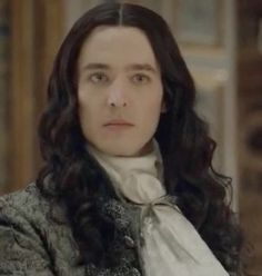 Alex Vlahos as Philippe, duc d'Orleans in the TV series Versailles