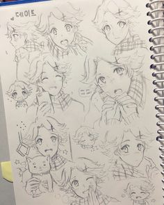 Great Yoosung sketches <3