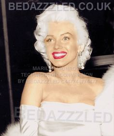MARILYN MONROE TECHNICOLOR CONVERSION BY BEDAZZZLED