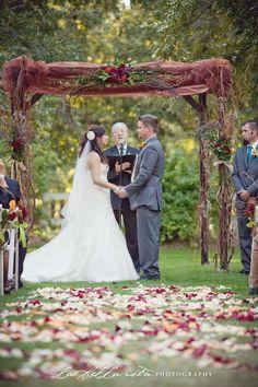 Venue at the Grove- Beautiful Ceremony Decor