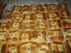 Greek Desserts, Greek Recipes, Greek Cookies, Hot Dog Buns, Waffles, Recipies, Food And Drink, Bread, Snacks