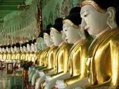 Buddhas by Nina Papiorek