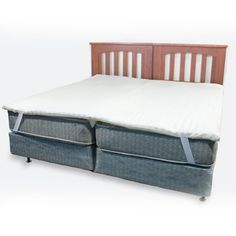 Science Of Sleep Kingmaker 2 Inch Twin Bed Connector Mattress Pad