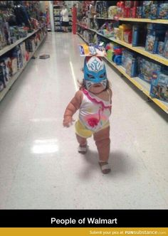Baby Walking Like a Boss - Power Rangers Masks and Kids Toys at Walmart - Cute! - Funny Pictures at Walmart Weird People At Walmart, Walmart Funny, Only At Walmart, Funny Kids, Cute Kids, Fun Funny, Age Tendre, Walmart Pictures, Haha