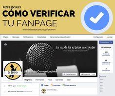 ¿Cómo pedir a Facebook que verifique tu fanpage?